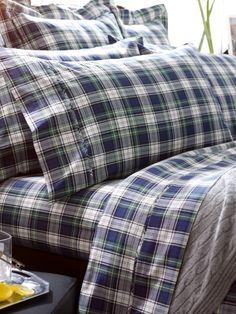 Dress Gordon Sheeting - Ralph Lauren Home Printed Sheets & Pillowcases - RalphLauren.com