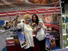 We had so much fun at the Southern Women's Show in Orlando this past weekend! For delicious Mahatma Rice Recipes, click on the photo!