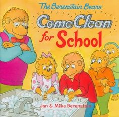 The Berenstain Bears Come Clean for School: Germs are everywhere!/pWith everyone coughing and spluttering around them, Brother and Sister learn an important lesson about how to stop germs and colds from spreading. Now they just have to teach Papa! Health Unit, Kids Health, Children Health, Health Activities, Creative Activities, Preschool Books, Preschool Activities, Preschool Learning, Berenstain Bears