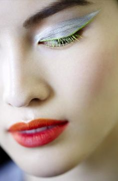 Dior Beauty 2012. Kabuki meets the '60s, perhaps?