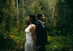 Snoqualmie Falls Pass Wedding, Washington Elopement  Pacific Northwest Wedding Photographer, Adventurous, Moody  ©Isaiah & Taylor Photography