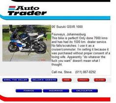 Funny autotrader advert - http://jokideo.com/funny-autotrader-advert/