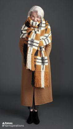 http://www.yarnspirations.com/patterns/big-tartan-crochet-super-scarf.html
