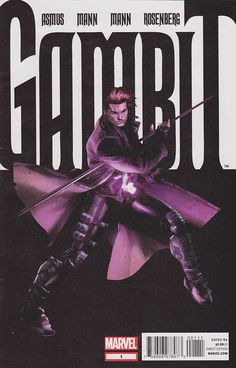 #Gambit Vol. 3 #1 Mint $5.00 ~ When #Marvel's premiere thief sets his sights on his biggest score yet, he may just end up over his head. It's going to take more than just playing cards and southern charm to get out of this one!  Regular Clay Mann Cover