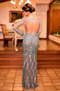vestido de festa madrinha Thássia Naves