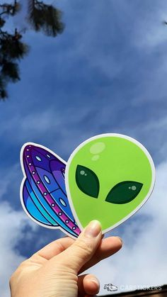 Shop all of our Alien stickers and decals today!