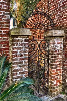 Charleston Gate with arch