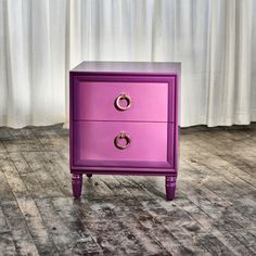Side Table no. Eight Forty  STYLE: Nightstand, Side Table, Bedside Table, Occasional table.