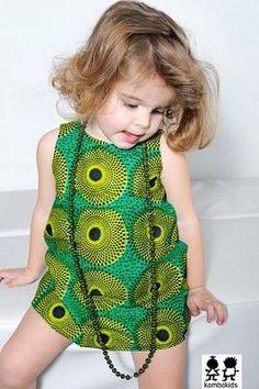 ropa para niños de colores: África está de moda