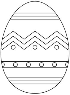 Easter Egg with Abstract Pattern coloring page from Easter eggs category. Select from 24661 printable crafts of cartoons, nature, animals, Bible and many more.