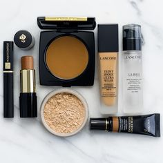 With Spring just around the corner, it's time to get back to basics, beginning with a beautiful canvas. 😉 #makeup #lancome #spring #winterbeauty #foundation