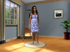 Star of David dress in Sim's 3 created byJEWISH CELTIC SIMMER