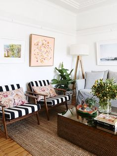 The Sydney apartment of interior designer Dominique Brammah and her partner Ashley Ryan. Photo – Eve Wilson. Production – Lucy Feagins on thedesignfiles.net