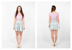 PARADOX SS15 'Details' Collection Floral, violet dress - 19.000HUF