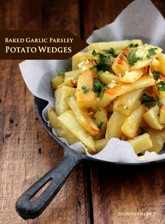 Baked Garlic Parsley Potato Wedges  June 23, 2014 ~ 6 Comments Sometimes it takes another person to remind you to be kind.  Another person l...