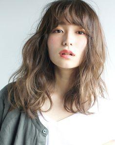 Asian Short Hair, Asian Hair, Medium Hair Styles, Curly Hair Styles, Digital Perm, Hair Arrange, Fluffy Hair, Japanese Hairstyle, Permed Hairstyles