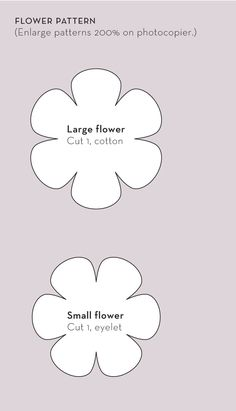 Wonderful Choose the Right Fabric for Your Sewing Project Ideas. Amazing Choose the Right Fabric for Your Sewing Project Ideas. Handmade Flowers, Diy Flowers, Fabric Flowers, Paper Flowers, Fabric Flower Pattern, Flower Petals, Felt Flower Template, Felt Templates, Flower Template Printable