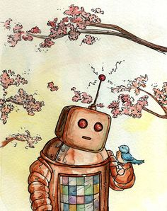 A Gentle Robot by Georgia Dunn