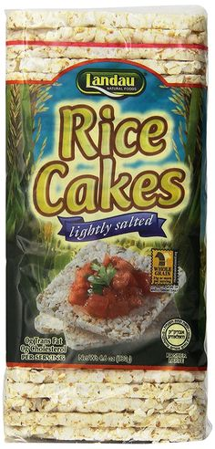 Landau Thin Rice Cake Salted 4.6 Oz. (Pack of 12) * You can find out more details at the link of the image.