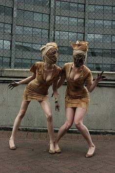 Really good nurses from Silent Hill
