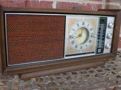 Vintage 1970 Alarm Clock and Radio - $25.00