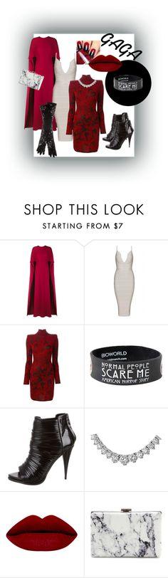 """Lady GAGA's new wardrobe"" by hannahvierheilig ❤ liked on Polyvore featuring Valentino, Balmain, Givenchy, Balenciaga and Dolce&Gabbana"