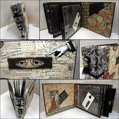 Album für viele Aufbewahrungsmöglichkeiten Shoulder Bag, Album, Bags, Creative, Crafting, Handbags, Shoulder Bags, Bag, Totes