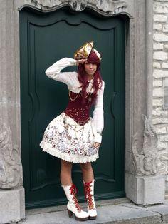 Pirate lolita dress.
