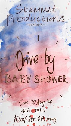 save the date for drive by babyshower that I am organising for a friend Organising, Save The Date, Babyshower, Organization, Getting Organized, Organisation, Baby Shower, Tejidos, Wedding Invitation