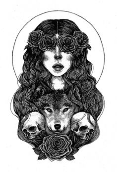 Annita Maslov  Cool tattoo idea.