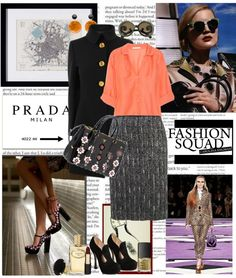 """""""prada fw 2012"""" by whit825 ❤ liked on Polyvore"""