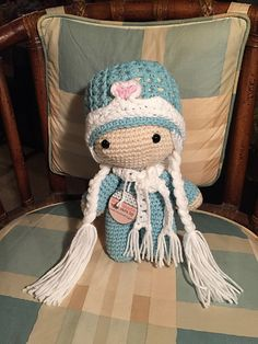 Ravelry: sandyeggers02's Frozen, Princess Big Head doll