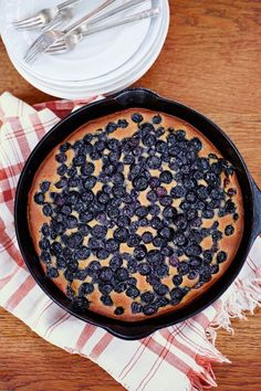 Make this easy and versatile blueberry cobbler all season long by swapping in seasonal fruits. Heating the pan before adding the batter ensures a nice, deep golden color.
