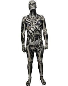 Muscle morphsuit fancy dress costume idéal pour fête festival halloween stag do