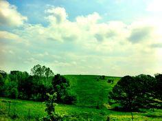 Missouri rolling hills