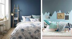 Chambre bleue : 17 idées deco - photos - inspirations - conseils