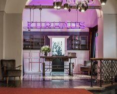 Kurhaus Hotel Lenzerheide – dein Zuhause in der Lenzerheide Partys, Valance Curtains, Loft, Outdoor Decor, Furniture, Home Decor, Home, Switzerland, Decoration Home