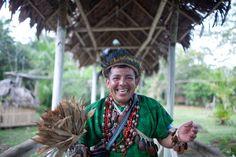 ayahuasca shaman   by Swiatoslaw Wojtkowiak