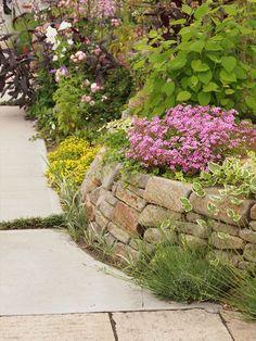 花壇・土留めの素材