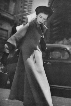 August Vogue 1949 Photo by Constantin Joffe