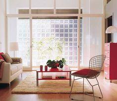 ANTESDE1 Lofts, Converted Garage, Glass Brick, Industrial Loft, Garages, Brick Wall, Room Interior, Interior Design, New Homes