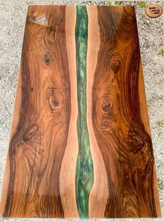 Resin Table, Wood Table, Wood Furniture, Furniture Design, Woodworking With Resin, Cypress Wood, Live Edge Wood, Counter Tops, Walnut Wood