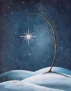 starlight    Beautiful Winterland by Shawna Erback              (via TumbleOn)
