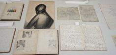Munn recorded her studies in New York in nine notebooks. Kathleen Munn's notebooks, Art Gallery of Ontario. Art Gallery Of Ontario, Group Of Seven, Canada, Online Art, Notebooks, Book Art, Gallery Wall, York, Artist
