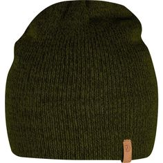 Fjallraven Kiruna Beanie ($35) ❤ liked on Polyvore featuring accessories, hats, knit cap beanie, fjällräven, fjallraven hat, stretch hat and knit beanie hat