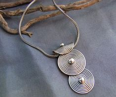 Sterling Silver pendant. Silver Jewelry. Ethnic Jewelry.