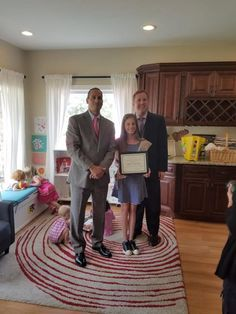West Milford Girl Scout Eileen Van Kirk was recognized for her volunteer work to build a book shelf and storage bench for the Highlands Family Success Center's new cozy book corner.