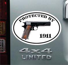 """KEEP CALM and CARRY Vinyl 12/"""" Decal HandGun Scope Case Holster Safe Gun Sticker"""