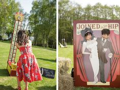 Wedding Magazine - An outdoor vintage circus-themed wedding