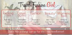 The Travel Fashion Girl Minimalista Style-Mix shows you how to maximize your travel outfits using just 4 pieces of womens travel clothing!